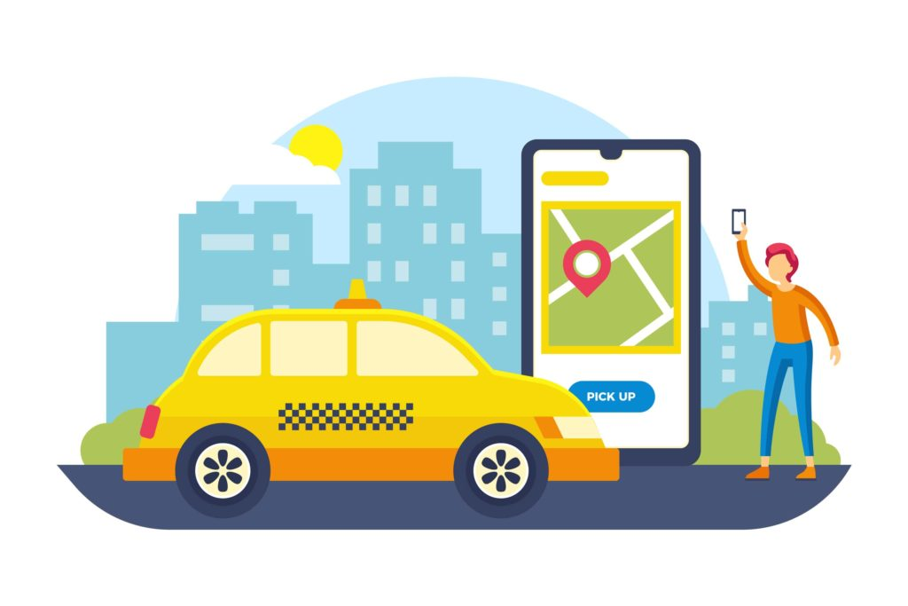 taxi booking app development companies